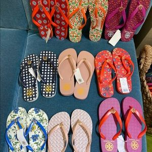 Tory Burch Flip Flop Collection
